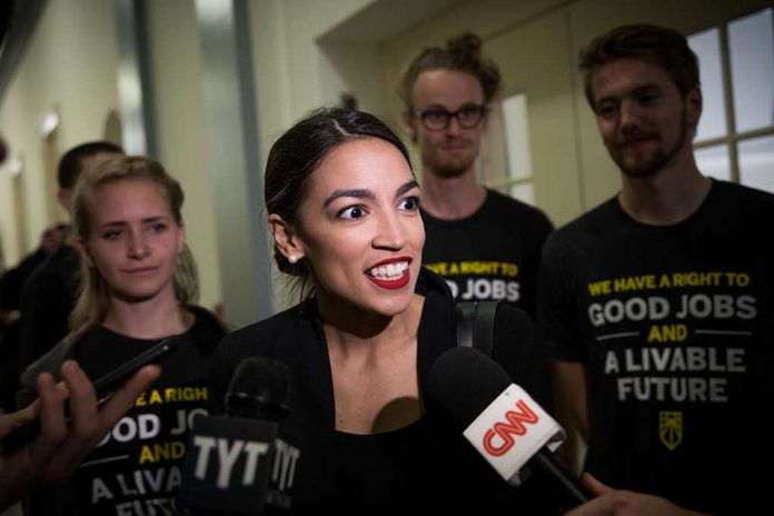 AOC Tells Supporters to Report