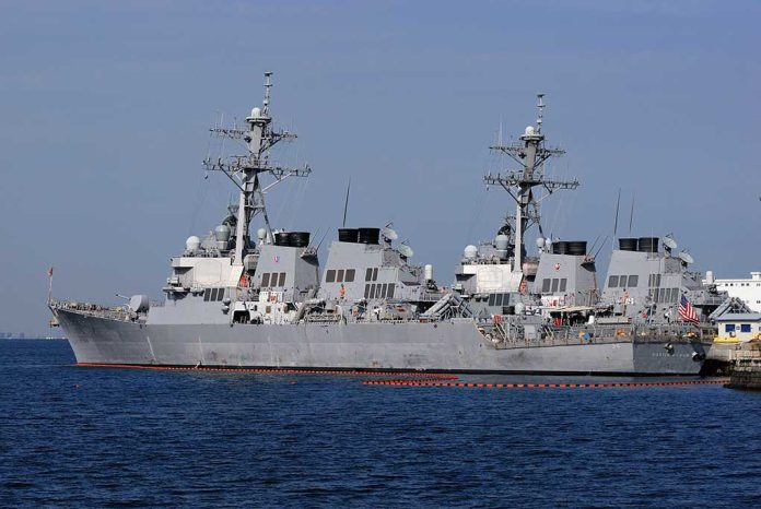 US Warship Deployed as Tensions Mount Against China